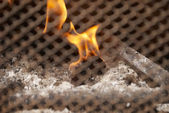 Fire & Fireplace — Stockfoto