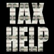 TAX HELP - Stock Photo