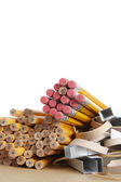 Pencils, School and Office Supplies — Stock Photo