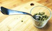 Edible Marijuana, Eat Pot — Stock Photo