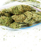 Bag of Weed — Stock Photo