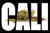 California Marijuana , Symbol and Sign  — Stock Photo