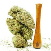 Marihuana achtergrond — Stockfoto