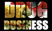 Marijuana Drug Business — Stock Photo