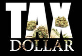 Marijuana Tax — Stockfoto