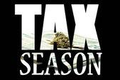 Marijuana Tax — Stock Photo