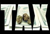Marijuana Tax — Stock fotografie