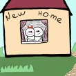 New home — Stock Photo