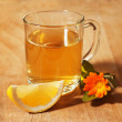 Stock Photo: Herbal tea