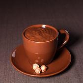 шоколад с орехами — Стоковое фото