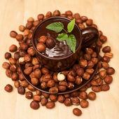 Chocolat au lait aux noix — Photo