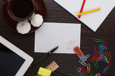 Guma na papíře — Stock fotografie
