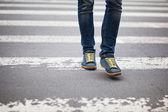 Przejście dla pieszych — Zdjęcie stockowe