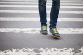 横断歩道 — ストック写真