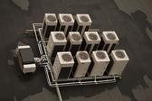 Ventilador de ar condicionado — Foto Stock
