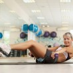 Beautiful fitness trainer — Stock Photo
