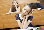 Boring lesson — Stock Photo