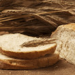 Bread and wheat — Foto de Stock
