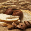 Stock Photo: Assorted breads