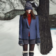 Stock Photo: Winter fashion