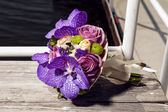 Beautiful wedding bouquet — Stock fotografie
