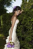 Fashionable Bride — Stock Photo