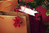 Vánoční nákupy — Stock fotografie