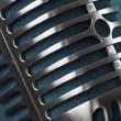 Photo retro microphone — Stock Photo