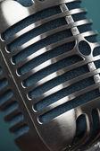 Photo retro microphone — Stock Photo