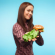 Stock Photo: Healthy Eating