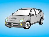 Car illustration — Stock Vector