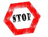 Stempel-stop — Stockvektor