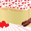 Valentines day background — Stock Vector #19951363