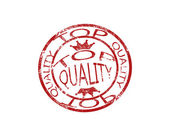 Top quality stamp — Stock Vector