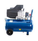 Air compressor. Isolated on white background — Stock Photo
