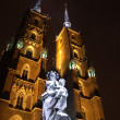 Stock Photo: Cathedral in Wroclaw