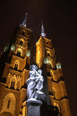 Cathedral in Wroclaw — Stock Photo