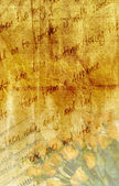 Texture love letter with rose — Foto de Stock