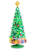 Decoration in the form of christmas tree — Stock Photo