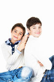 Two brothers — Stock Photo