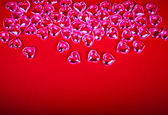 Red background for Valentine's Day — Stock Photo