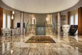 Moderno soggiorno marmo — Foto Stock