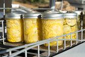 Pickled Squash And Zucchini — Stock Photo