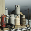 Stock Photo: Propane Cylinders