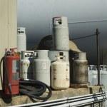Propane Cylinders — Stock Photo #35942997