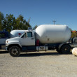 Stock Photo: Propane Trucks