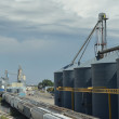 Stock Photo: Rail Grain