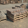 Retaining Wall Bricks — Stock Photo