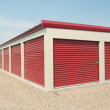 Storage Unit — Stockfoto