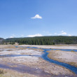 Firehole Basin — Stock Photo